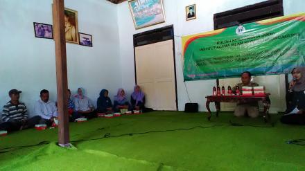 Meningkatkan Jiwa Entrepreneur di desa Bodag