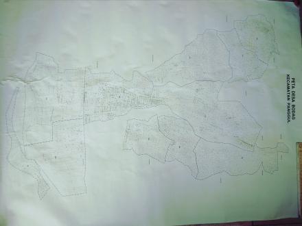 Peta wilayah Desa Bodag
